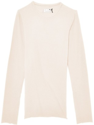 Labo.Art Sarix M/L Basic Top in Winter White