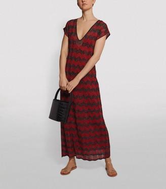 M Missoni Metallic Zigzag Gown