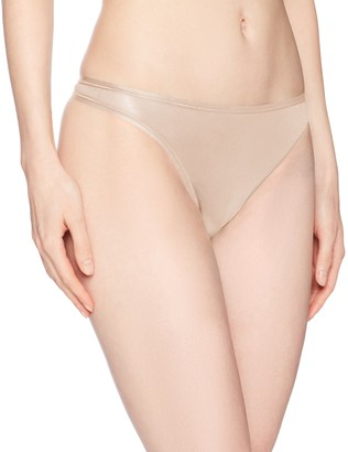 Paramour Women's Allie Organic Cotton Thong Panty