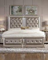 Vivian Tufted Queen Bed