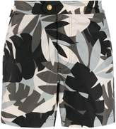 Tom Ford leaf patterned swim shorts