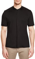 Ovadia & Sons Crosby Mesh Slim Fit Button Down Shirt