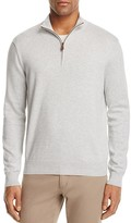 Brooks Brothers Cotton Half-Zip Sweater