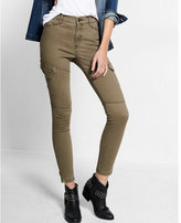 Express high waisted cargo ankle leggings