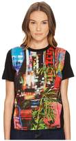 Paul Smith Neon Sign Print T-Shirt Women's T Shirt