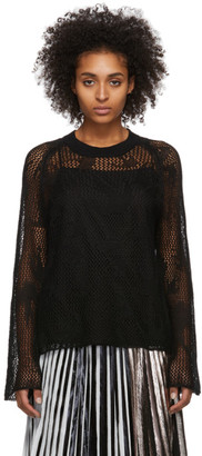 McQ Black Unoko Sweater
