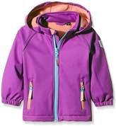 Name It Girl's Hooded Long Sleeve Jacket - Purple -
