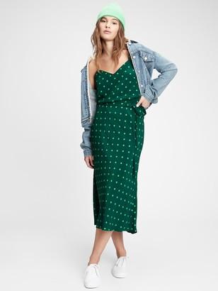 Gap Side-Tie Midi Skirt