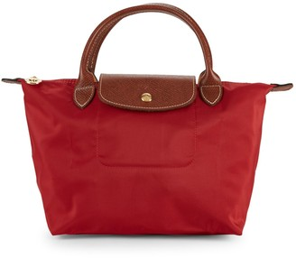 Longchamp Small Le Pliage Top Handle Bag