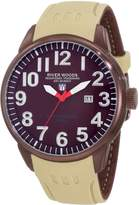 River Woods Men's RW 5 M BRD SCBE IP Luminous Watch
