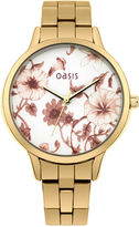 """Oasis Gold Bracelet Watch [span class=""""variation_color_heading""""]- Gold[/span]"""