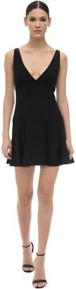 DSQUARED2 Stretch Crepe Mini Dress