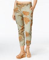 American Rag Juniors' Printed Cargo Pants, Created for Macy's
