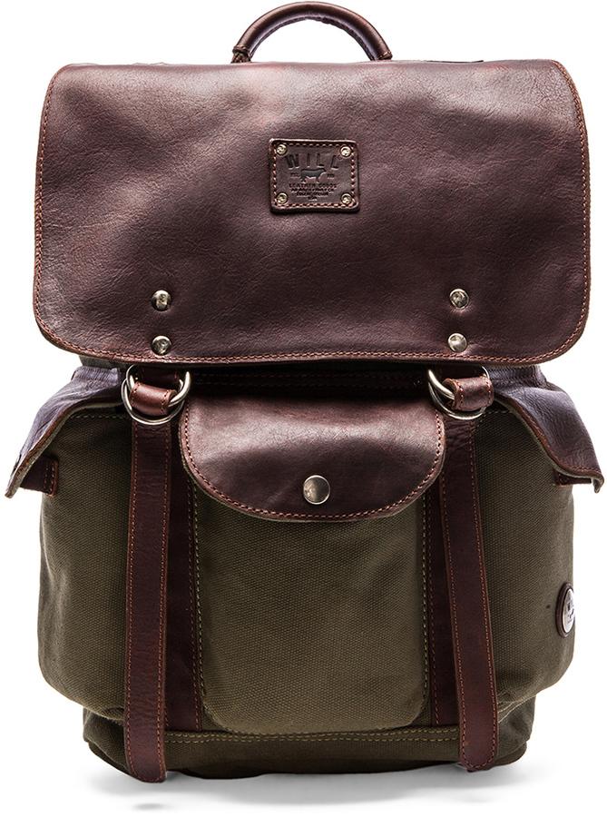 Will Leather Goods Lennon Rucksack
