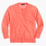 J.Crew Cotton Jackie cardigan sweater
