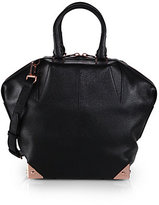 Alexander Wang Emile Small Pebbled-Leather Tote
