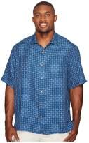 Tommy Bahama Big & Tall Keep It in Check Camp Shirt