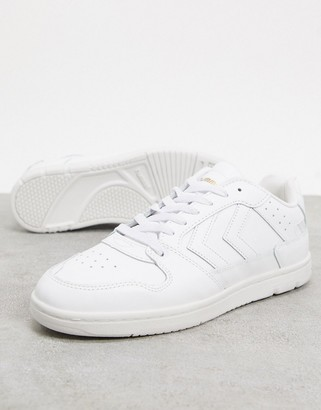 Hummel Hive Power Play sneaker in white