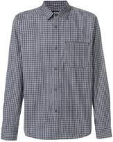 A.P.C. Trek micro check shirt