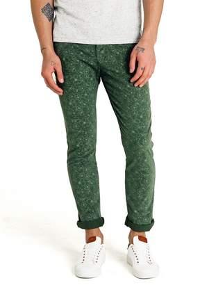 Good Man Brand Floral Print Chino Pants