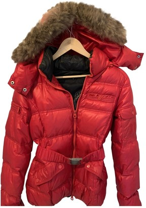 Berenice Red Leather Jacket for Women