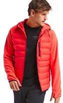Gap PrimaLoft® performance fleece hooded puffer jacket