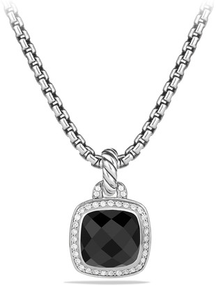 David Yurman Albion Stone Pendant with Diamonds