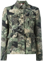 Antonio Marras camouflage military jacket - women - Cotton/Polyester/Viscose/glass - 44