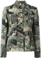 Antonio Marras camouflage military jacket - women - Cotton/Viscose/Polyester/glass - 44