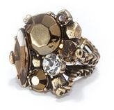 Rachel Roy Color Cluster Cocktail Ring