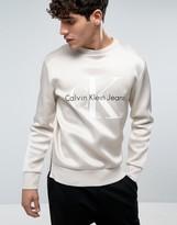Calvin Klein Jeans Horacle Lux Neoprene Logo Sweatshirt