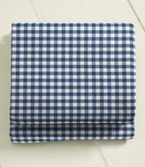 L.L. Bean Ultrasoft Comfort Flannel Sheet, Flat Gingham