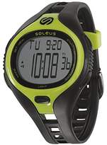 Soleus Men's SR018-052 Dash Large Digital Display Quartz Black Watch