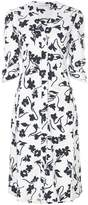 Altuzarra floral print shirt dress