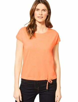 Cecil Women's 314826 Solid Smock Shoulder T-Shirt