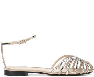Alevì Rebecca strappy flat sandals