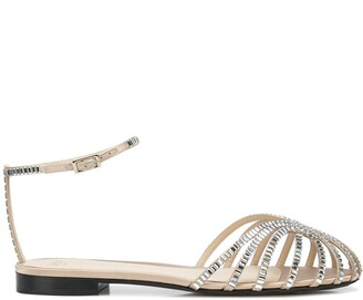 ALEVÌ Milano Rebecca strappy flat sandals