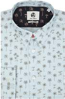 Ps By Paul Smith Cotton Space Trees Tailored Fit Shirt