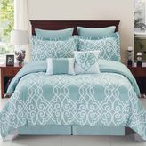 Bed Bath & Beyond Dawson Reversible Comforter Set in Blue/White
