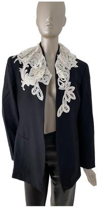 Gianfranco Ferre Black Wool Jacket for Women