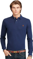 Ralph Lauren Custom-fit Long-sleeved Polo