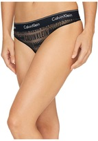 Calvin Klein Underwear Modern Cotton Logo Thong Panty
