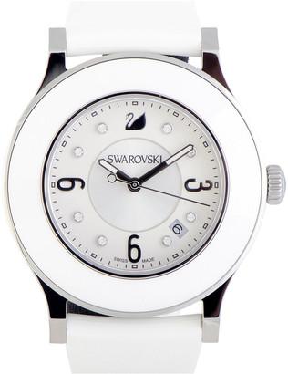 Swarovski Women's Rubber Watch