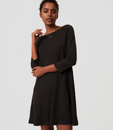 LOFT Tall Boatneck Swing Dress