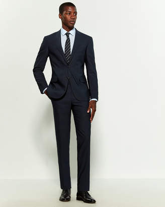 Corneliani Virgin Wool Pinstripe Suit
