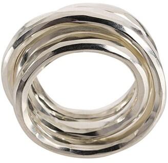 Werkstatt:Munchen Multi Band Hammered Ring