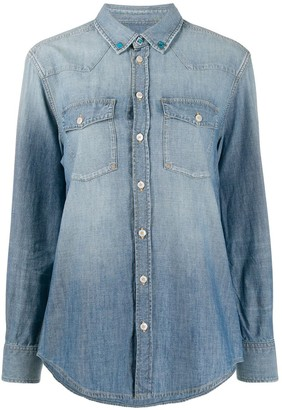 Golden Goose Denim Long Sleeve Shirt