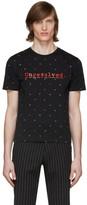 Paco Rabanne Black Peter Saville Edition Unresolved T-Shirt
