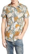 Scotch & Soda Floral Print Woven Shirt