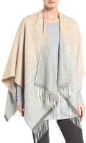 Eileen Fisher Women's Ombre Alpaca Serape Wrap
